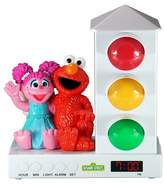 Sesame Street Elmo and Abbey Stoplight Sleep Enhancing Alarm Clock