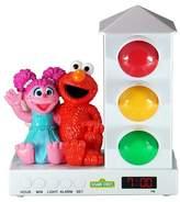 Sesame Street Stoplight Sleep Enhancing Alarm Clock for Kids - Elmo and Abbey