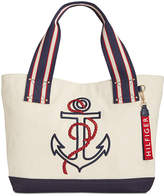 Tommy Hilfiger Classic Tommy Anchor Embroidered Extra-Large Tote