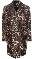Diane von Furstenberg Finola Printed Calf Hair Coat