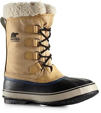 Sorel 1964 Pac Snow Faux Fur-Trimmed Winter Boots