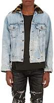R 13 Men's Repurposed Denim Trucker Jacket