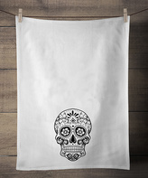 Sugar Skull Dish Towel