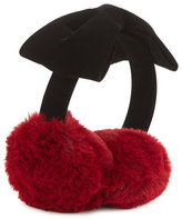 Kate Spade Kids' Faux-Fur Cherry Earmuffs
