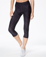 Calvin Klein Printed Cropped Leggings