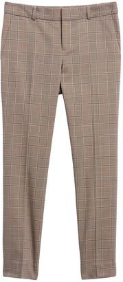 Banana Republic Avery Straight-Fit Cotton-Wool Blend Pants
