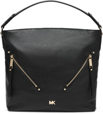 MICHAEL Michael Kors Crystal-embellished Floral-print Canvas Pouch