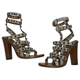 Isabel Marant Beige Leather Sandals