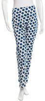 Samantha Sung Printed Mid-Rise Pants