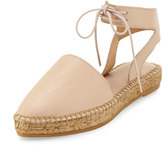 Andre Assous Vanessa Leather Espadrille Flat, Nude