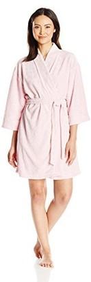 Rene Rofe Women's It's A Wrap-Embossed Robe