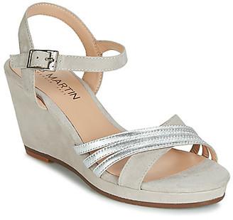JB Martin QUOLIDAYS women's Sandals in Grey