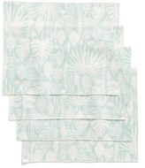 Minted Tropical Leaves Set Of 4 Placemats