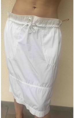 Prada White Cotton Skirt for Women
