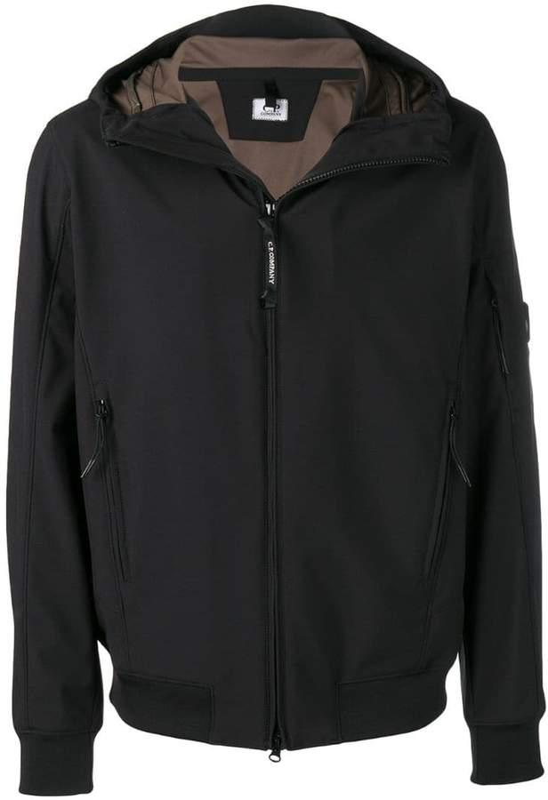 C.P. Company hooded bomber jacket