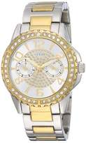 GUESS Womens Multi dial Quartz Watch with Stainless Steel Strap W0705L4