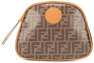 Fendi FF motif beauty case