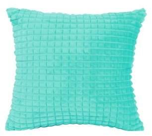 "Piccocasa PiccoCase Sofa Throw Pillow Cases Faux Fur Solid Cushion Cover, 18""x 18"""