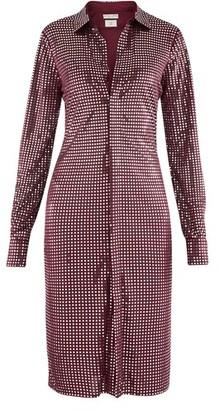 Bottega Veneta Long sleeve satin dress