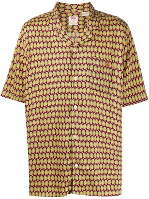 Levi's Abstract-Print Short-Sleeved Shirt