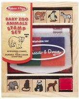 Melissa & Doug NEW Baby Zoo Animals Stamp Set
