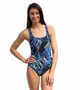 Speedo Spiral Curve Drop Back Swimsuit 7535483