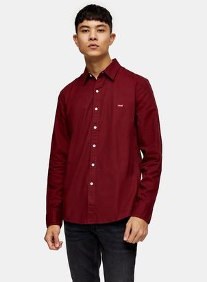 Levi's TopmanTopman Red Twill Shirt