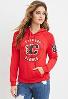 Forever 21 Calgary Flames Graphic Hoodie