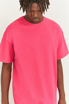 Uo Pink Oversized Skate T-shirt