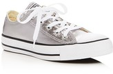 Converse Chuck Taylor All Star Seasonal Metallic Lace Up Sneakers
