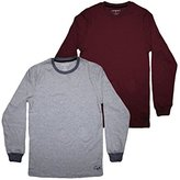 (Pack of 2)Ecko Unltd Youth Superior Quality Crew-Neck Long Sleeve Shirt