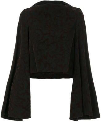 Comme Des Garçons Pre Owned Kimono Style Jumper