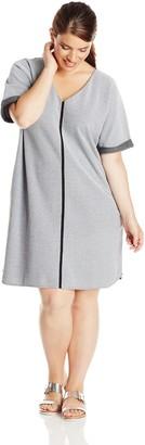 Joan Vass Women's Pique Dress