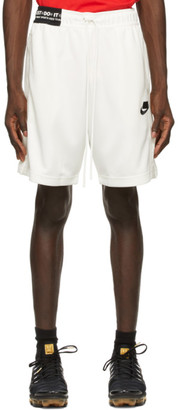 Nike White NSW Sportswear Shorts
