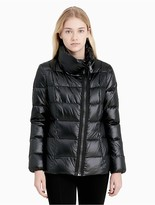 Calvin Klein Down Asymmetric Zip Jacket