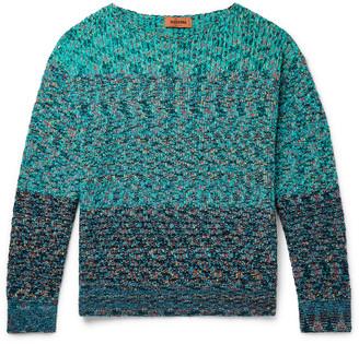 Missoni Melange Cotton-Blend Sweater