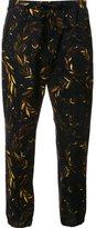 OSKLEN bay leaves jogging pants - men - Cotton/Spandex/Elastane - 38