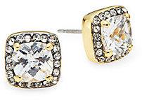 Saks Fifth Avenue Sparkle Cushion Stud Earrings