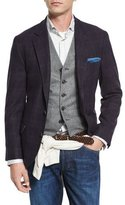 Brunello Cucinelli Glen Plaid Wool/Cashmere Sport Coat, Violet