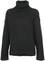TOMORROWLAND tweed turtle neck sweater