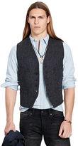 Denim & Supply Ralph Lauren Slim-Fit Wool Tweed Vest