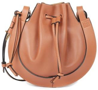 Loewe Small Horseshoe Leather Saddle Bag