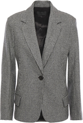 Nili Lotan Houndstooth Wool-blend Blazer