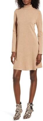Vero Moda Happy Roll Neck Long Sleeve A-Line Sweater Dress