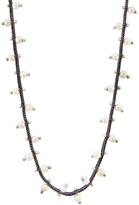 Ten Thousand Things Fine Studded Pearl Chain Necklace