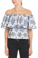 Nicholas N Off-the-shoulder Top.