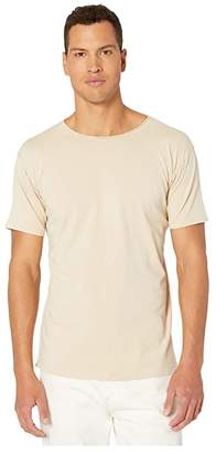 Scotch & Soda Organic T-Shirt with Subtle Styling Details (Sand) Men's Clothing