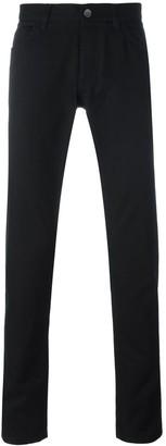 Dolce & Gabbana Car & Palm Patch Jeans