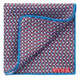 Thomas Pink Elephant Repeat Pocket Square