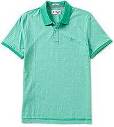 Original Penguin Feeder Stripe Short-Sleeve Polo Shirt